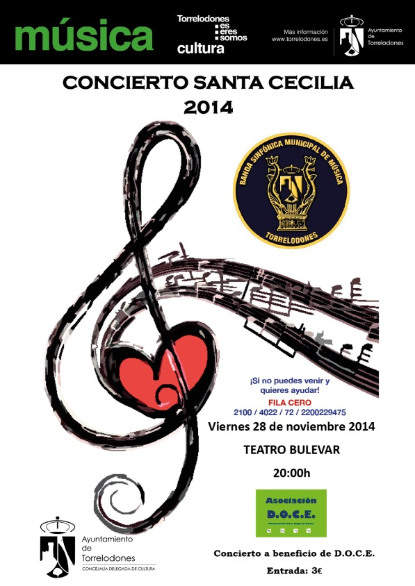 concierto Sta. Cecilia 2014